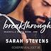 Cover Reveal - Breakthrough by Sarah Stevens