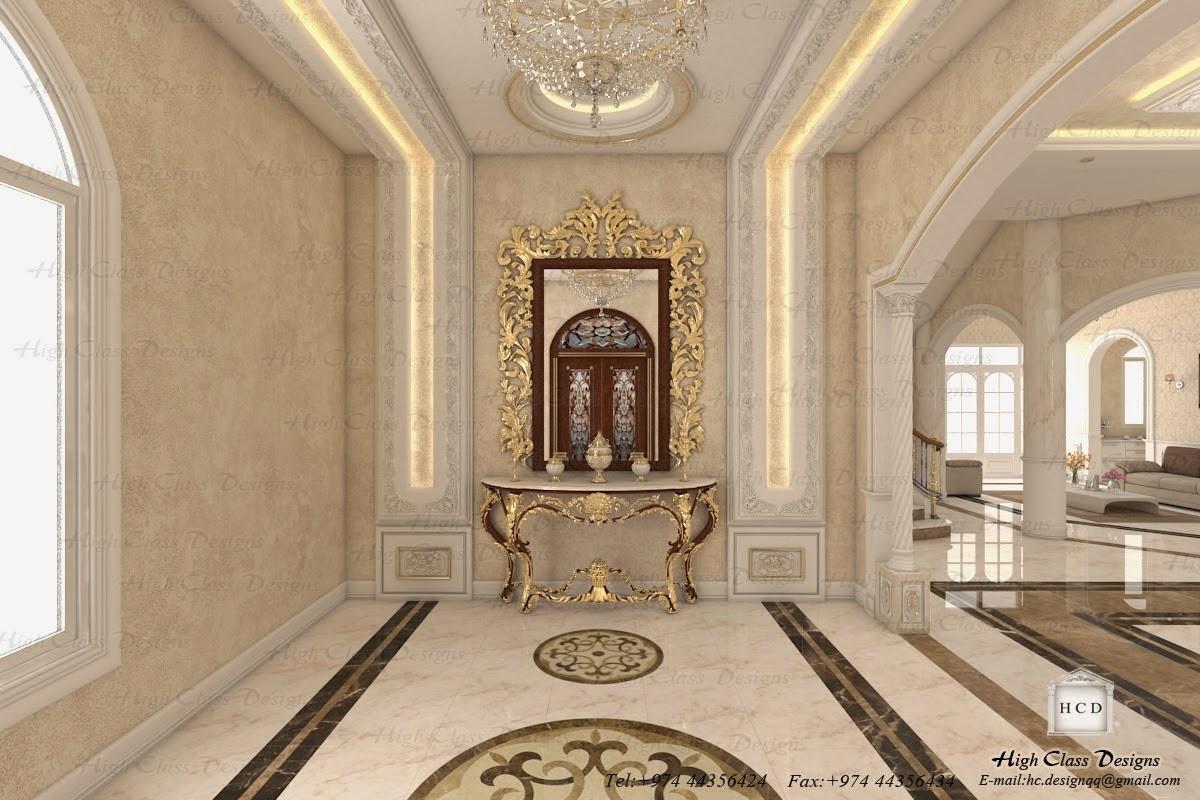 High class designs classic design of luxury villa - Classic home interior design photos ...