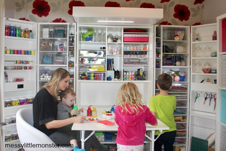 DreamBox craft cabinet review