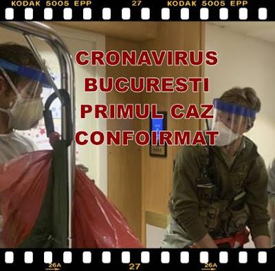 primul caz de coronavirus in bucuresti confirmat