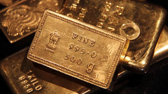 La India compra oro, mientras reduce sus bonos del Tesoro de EE.UU.