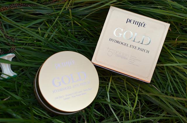 Petitfee Gold Hydrogel Eye Patch+ 5 Golden Complex / Гидрогелевые патчи для глаз с золотым комплексом +5