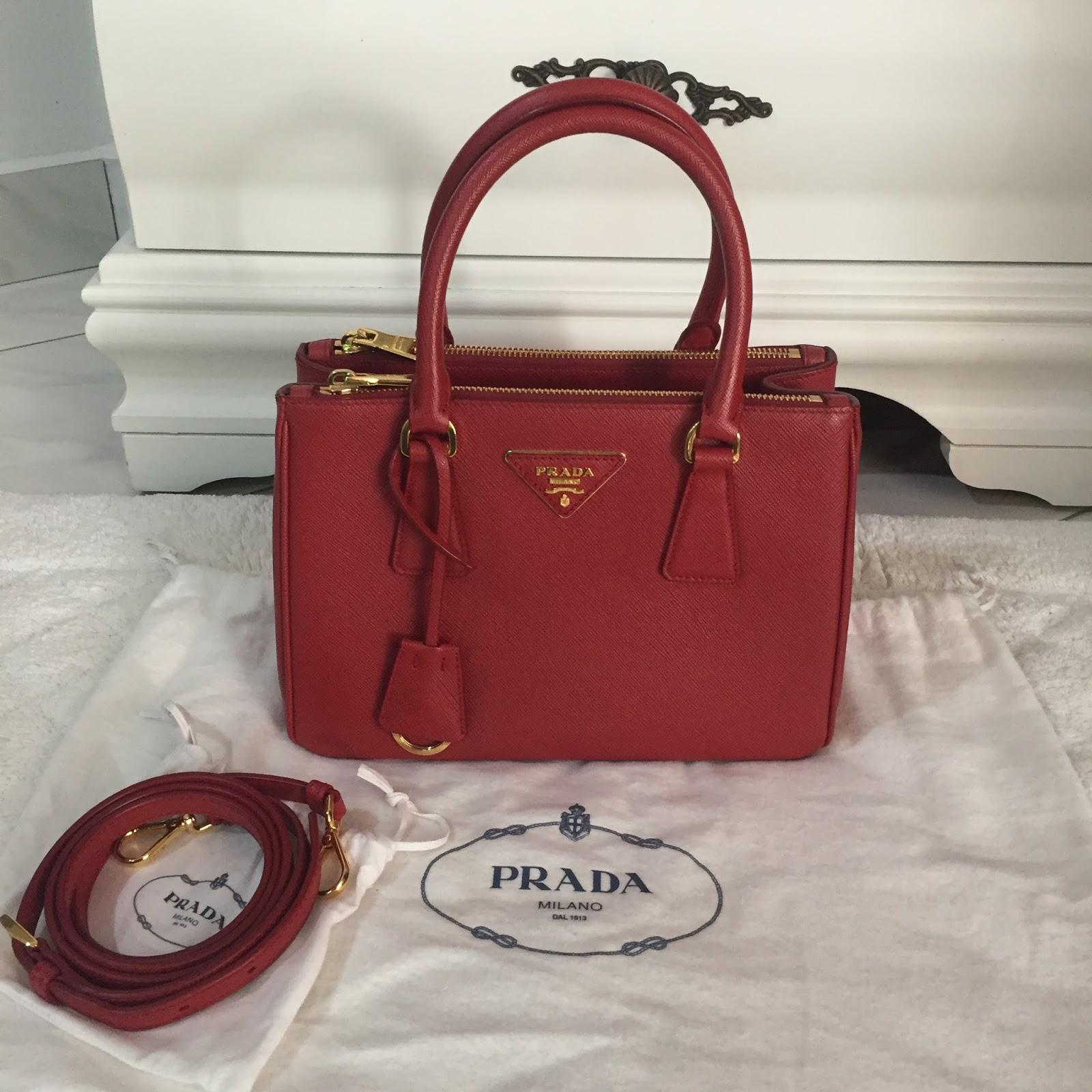 ab3e3476994d ... spain prada galleria saffiano leather bag pre loved ce35d 2a382