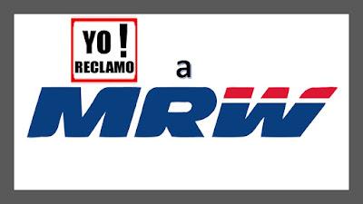 Yo reclamo a MRW de Venezuela