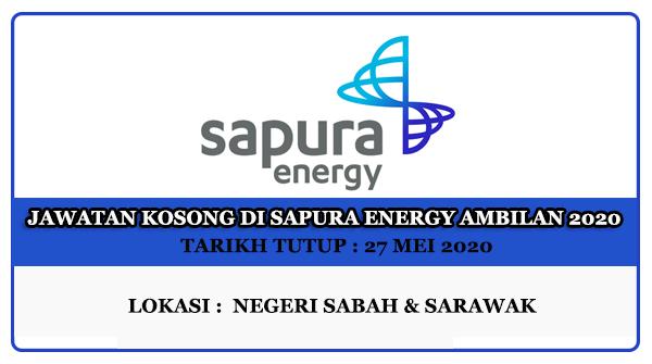 Jawatan Kosong Di Sapura Energy Ambilan 2020