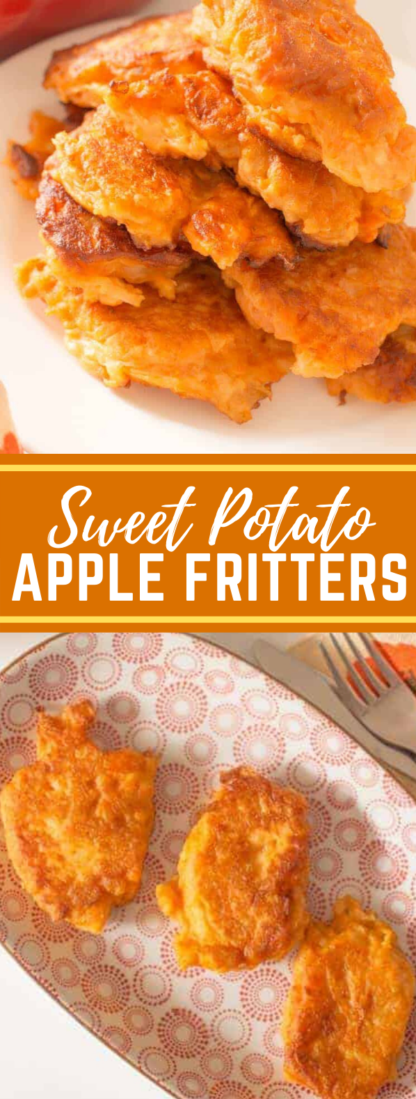 Sweet potato and apple fritters #meals #kidfriendly