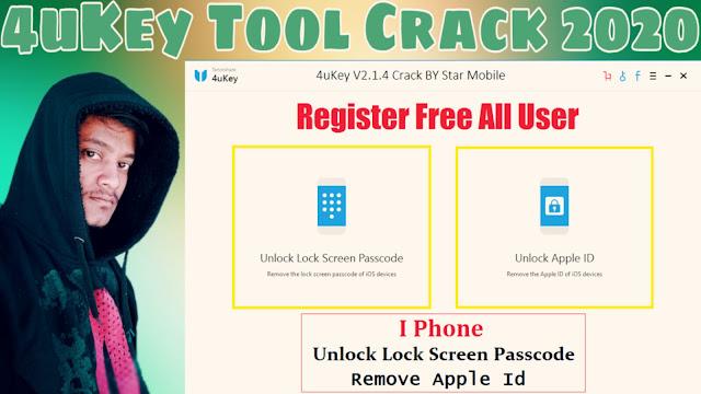 4uKey V2.1.4 Tool Unlock 2020