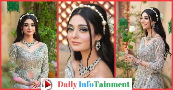 Noor Khan Bridal Photoshoot for Sarah Makeup Studio