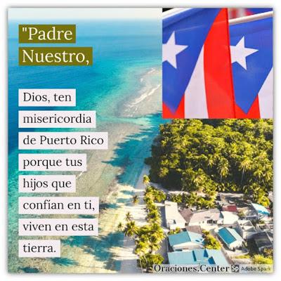 Oración para Puerto Rico contra Desastres Naturales