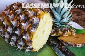 lassensloves.com, Lassen's, Lassens, pineapple+cutting