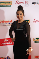 Vennela in Transparent Black Skin Tight Backless Stunning Dress at Mirchi Music Awards South 2017 ~  Exclusive Celebrities Galleries 039.JPG