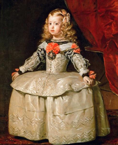 Диего Веласкес - Портрет принцессы Марии Маргариты (1653)