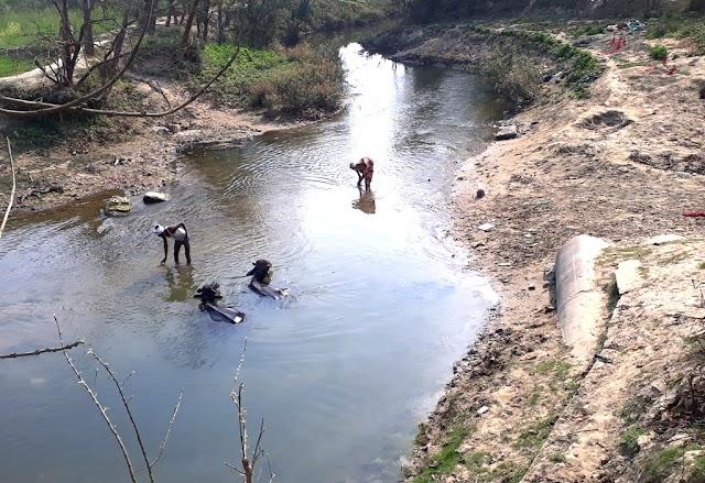 बछराजा नदी पर फाटक के निर्माण की मांग अब तक उपेक्षित