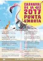 Carnaval de Punta Umbría 2017 - Programación