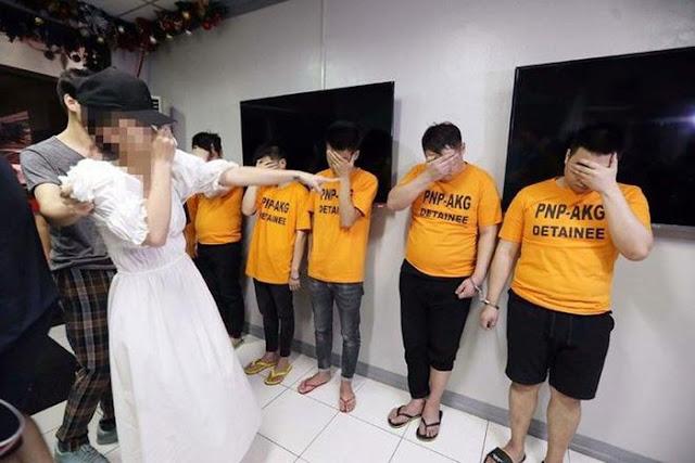 Bắt 6 người Trung Quốc bắt cóc, cưỡng hiếp một phụ nữ Việt