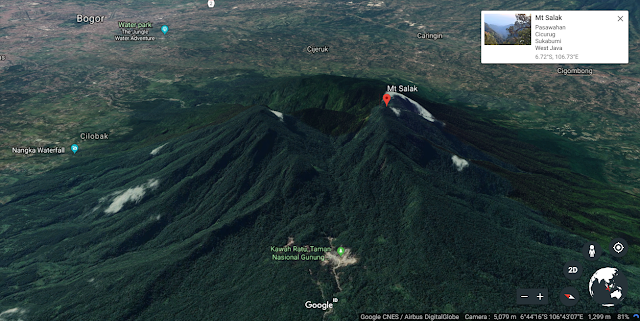 Pendakian Gunung Salak 1 Hari (Tektok) via Jalur Cimelati