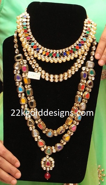 Fashion Navaratna Jewelry