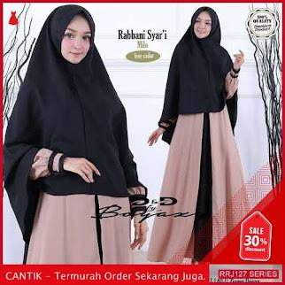 Jual RRJ127D171 Dress Muslim Rabbani Wanita Syari St Terbaru BMGShop