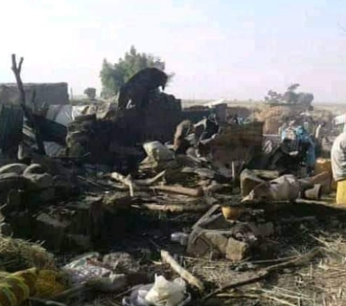 Breaking: Dozens Reportedly Dead As Military Jet Mistakenly Bomb Buhari Village