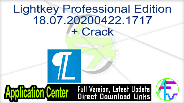 Lightkey Professional Edition 18.07.20200422.1717 + Crack