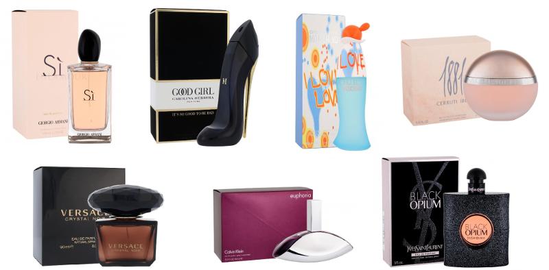 najchętniej kupowane perfumy dla kobiet
