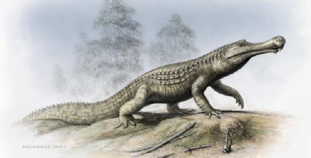Sneaky crocodiles occupied sauropod hatcheries
