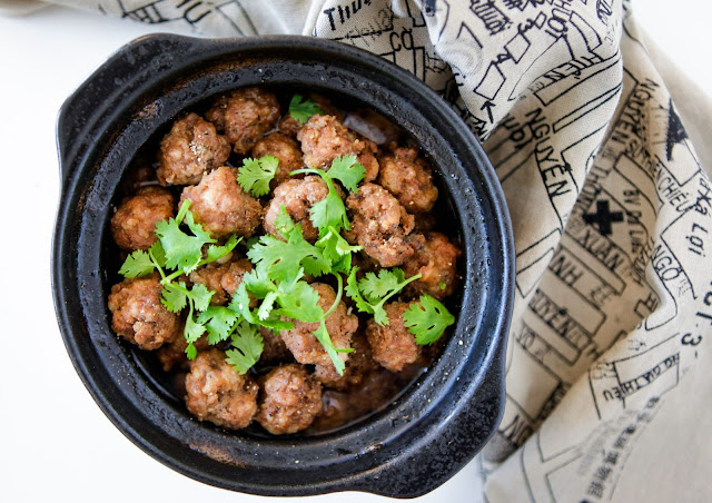 Braised Vietnamese Meatballs (Paleo, GAPS, AIP Friendly)