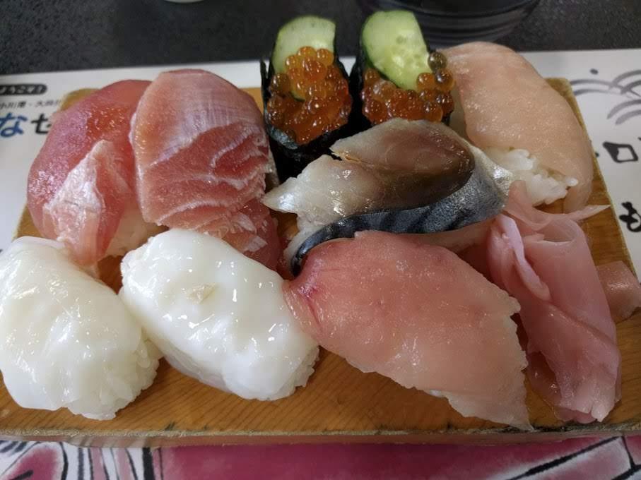 おさかな食堂 渚 お寿司