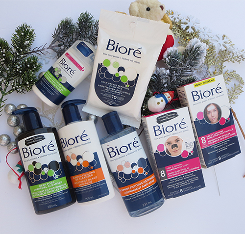 Stock your Stockings with Biore ~ #Review #Giveaway #2016GiftGuide