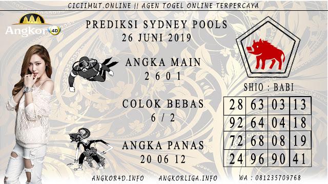PREDIKSI SYDNEY POOLS 26 JUNI 2019