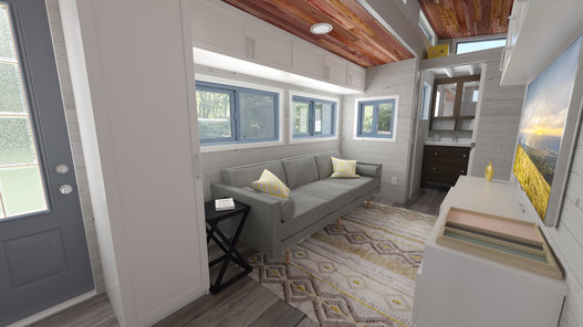 Tiny House Town The Aurora From Zerosquared 337 Sq Ft
