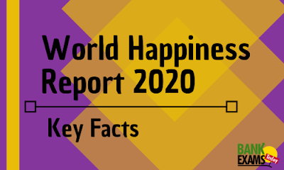 World Happiness Report 2020: Key Facts