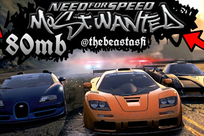 Download NEED For SPEED Most Wanted HD Lite 80MB [PPSSPP] Android Terbaru 2017