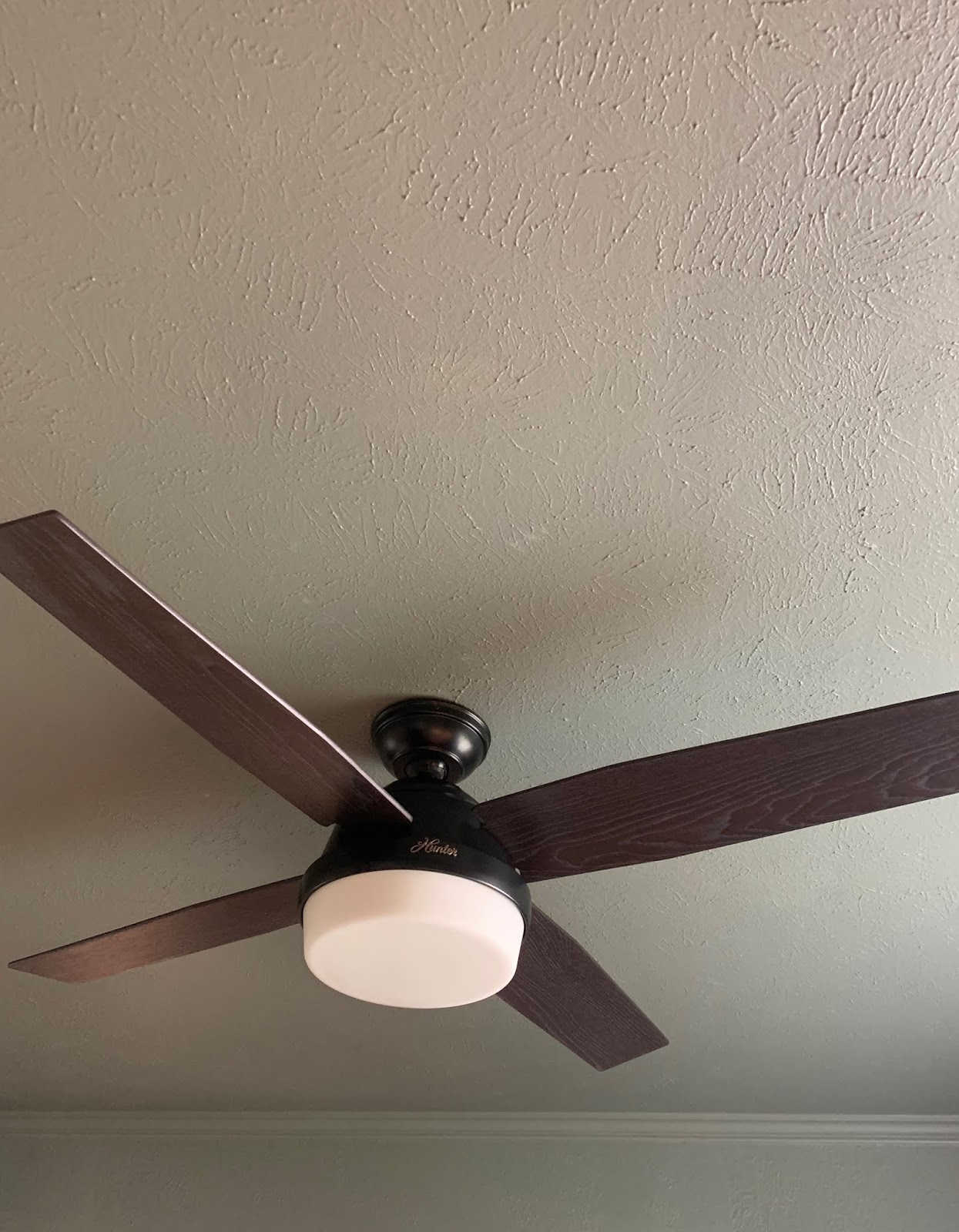We've installed a few ceiling fans in our day and while they aren't as easy as light fixtures, they aren't hard to install. A modern fan upgrade can make such a huge difference in a space.| House Homemade