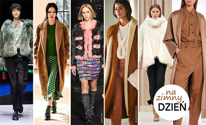 modne płaszcze jesień zima 2021