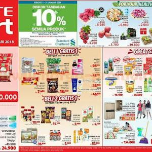 Katalog Promo Lottemart Hypermarket Weekend 18 - 21 Januari 2018