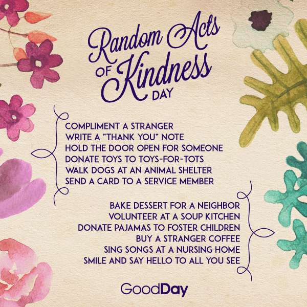 Random Act of Kindness Day Wishes Awesome Picture