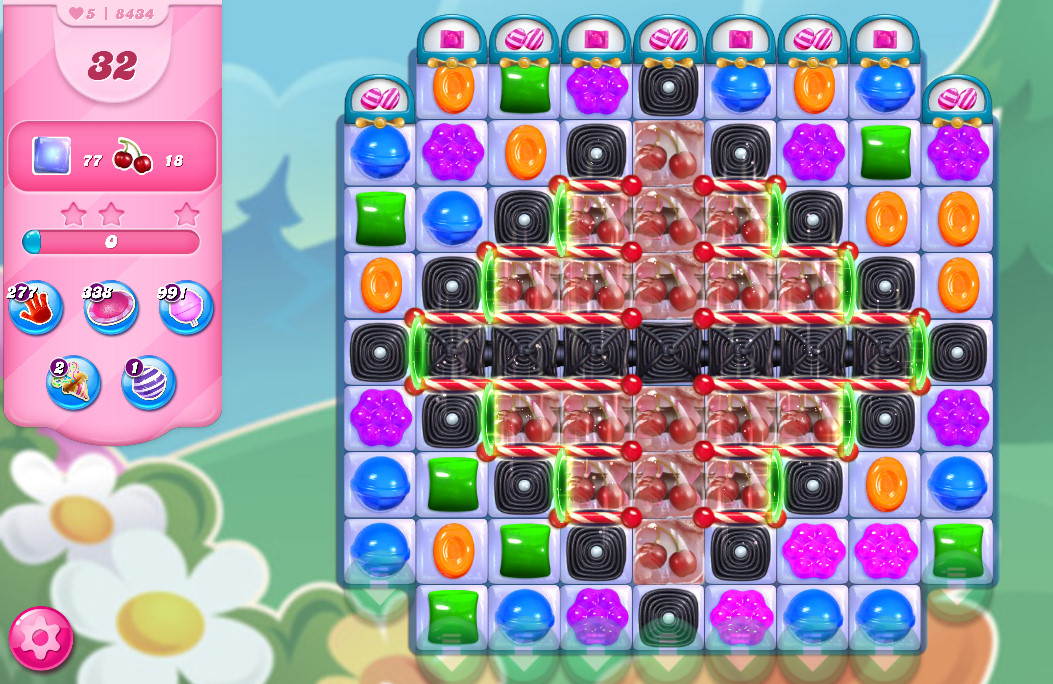 Candy Crush Saga level 8434