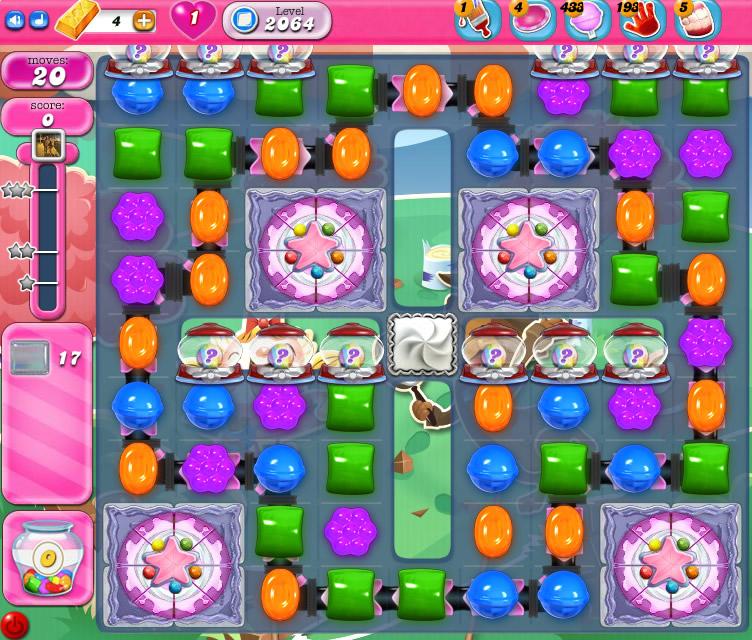 Candy Crush Saga level 2064