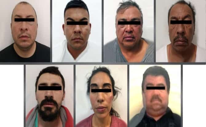 Organizaciones, secuestrados, agentes