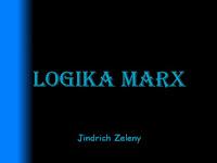 Ebook Logika Marx Karya Jindrich Zeleny