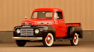 1950 Mercury M-47 Pickup Front Left
