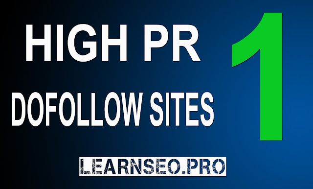HIGHPR 1 Directory Submission sites