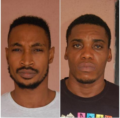 "EFCC arrests two ""Yahoo"" boys over N1m scam"
