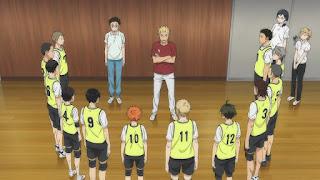ハイキュー!! アニメ 2期9話 烏野高校排球部 | HAIKYU!! 梟谷学園グループ 合同合宿