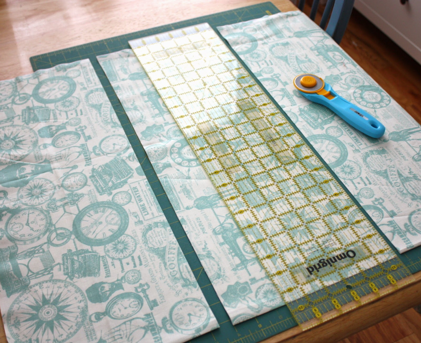 Fast Four Patch Quilt Tutorial featured by top US quilting blog, Diary of a Quilter