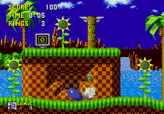 spin dash sonic 1