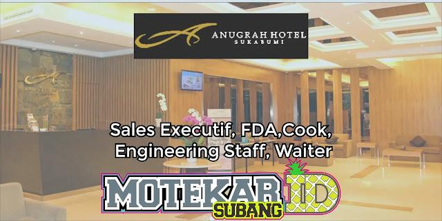 Info Loker Anugrah Hotel Sukabumi 2019