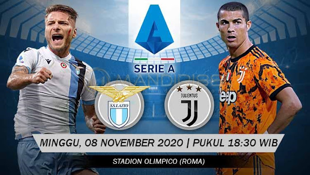 Prediksi Lazio Vs Juventus, Minggu 08 November 2020 Pukul 18.30 WIB @ RCTI