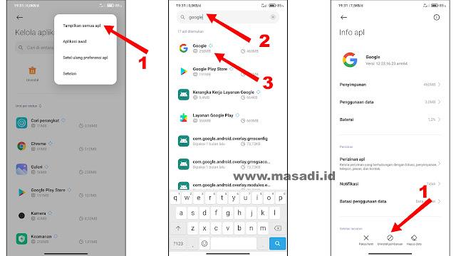 Notif Google Berhenti Terus